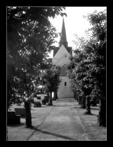 Church in Raade Norway