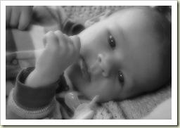 Aidan 5 weeks