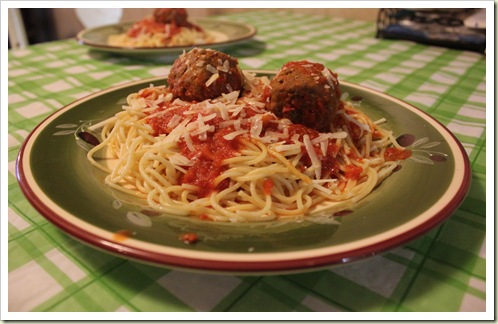 Mama Mancini's Meatballs in Sunday Sauce