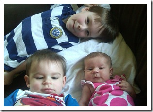 Vincent, Aidan, Silje