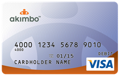 Akimbo Visa Prepaid Card Now Offering $5 Free After