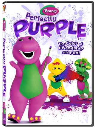 Barney Perfectly Purple on DVD