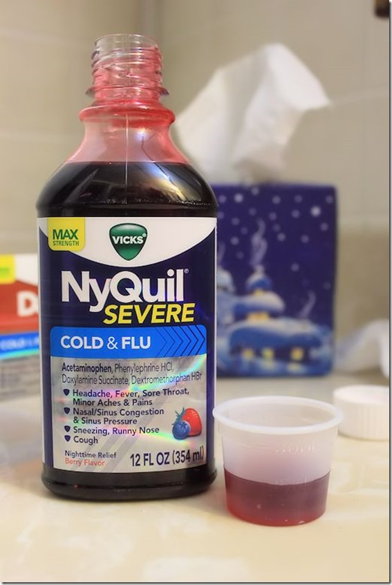 new dayquil nyquil severe cold flu reliefishere first time