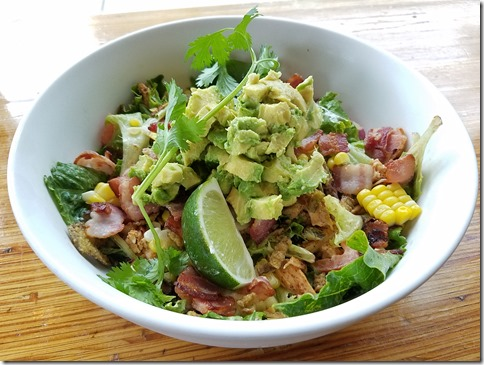 Chicken Veracruz Salad