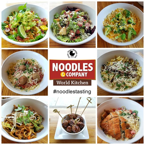 This is a picture of Magic Noodles and Company Printable Menu