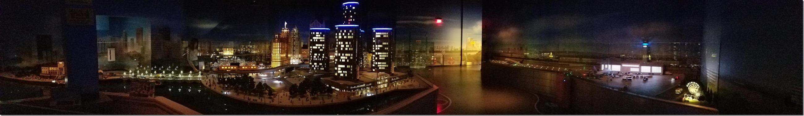 Detroit Lego City Panorama