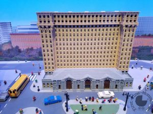 Legoland Discovery Center Detroit Train Station