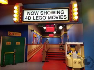 Legoland Discovery Center 4D Lego Movie Theater