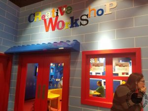 Legoland Discovery Center Creative Workshop