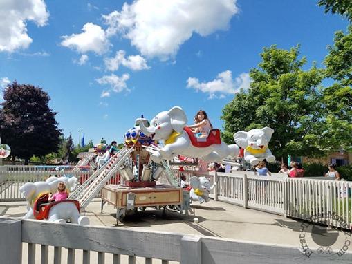 Kiddie Rides at Michigans Adventure