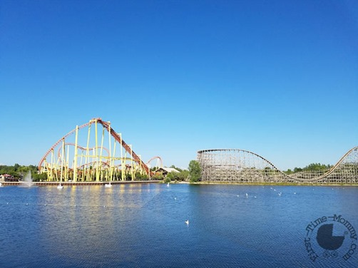 Michigan's Adventure - Roller Coasters