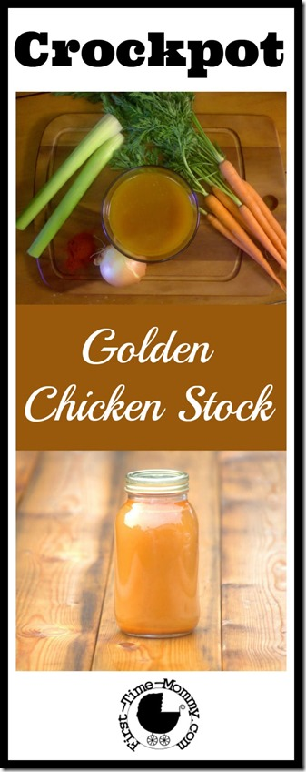 Golden Chicken Stock