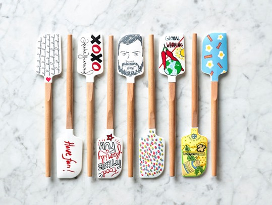 Limited Edition Spatulas