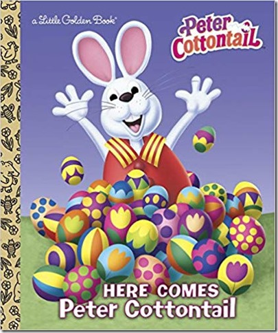 Peter Cottontail Little Golden Book