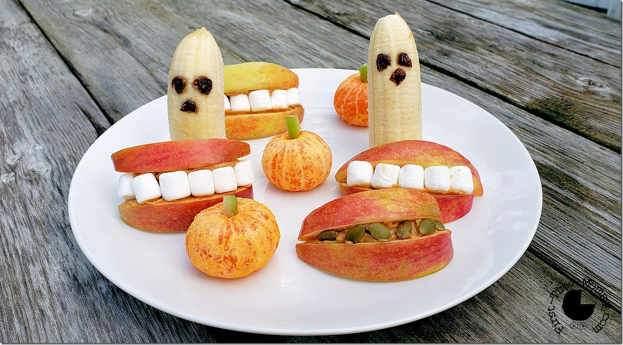 Frightful Halloween Fruit