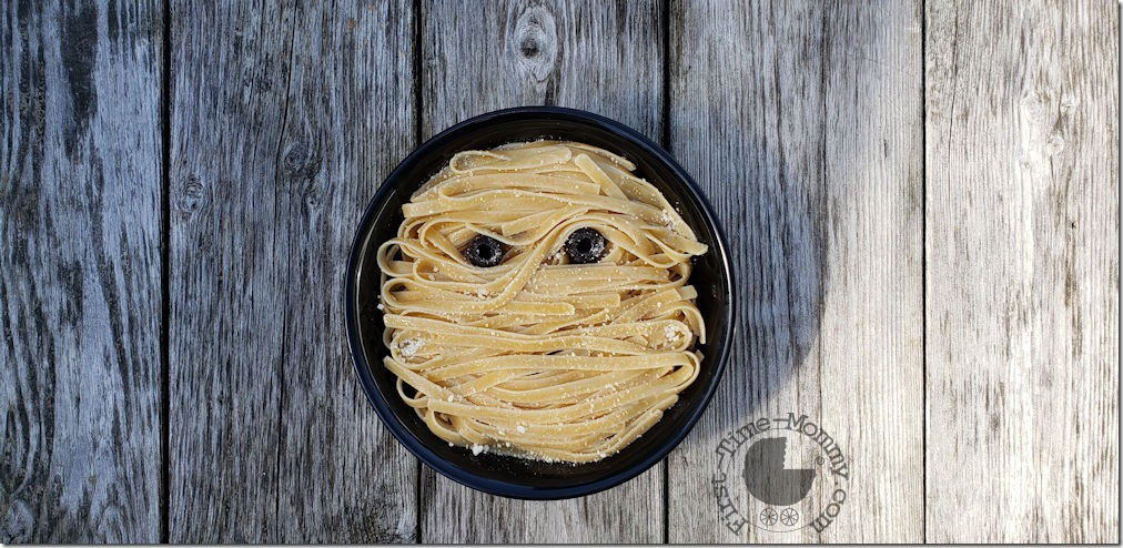 Halloween Mummy Pasta