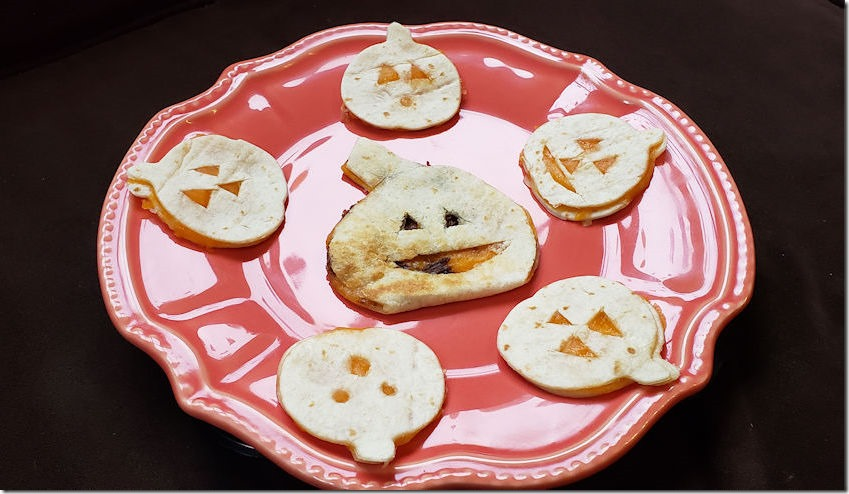 Halloween Quesadillas